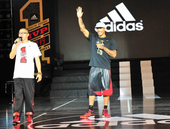 Derrick Rose's China MVP Tour-ERA Lighting