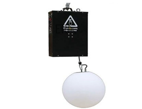 dmx led lifting ball
