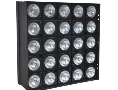 25 heads 75W matrix light