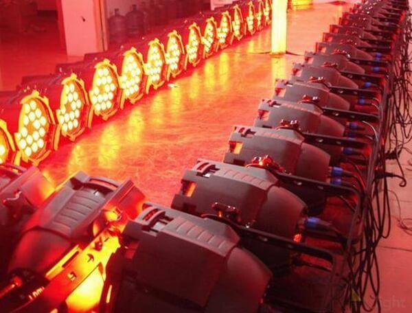 testing of led par lighting era lighting