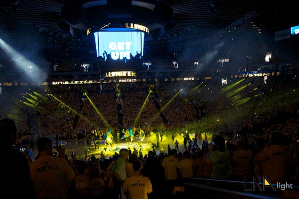 NBA in USA 2016 era lighting