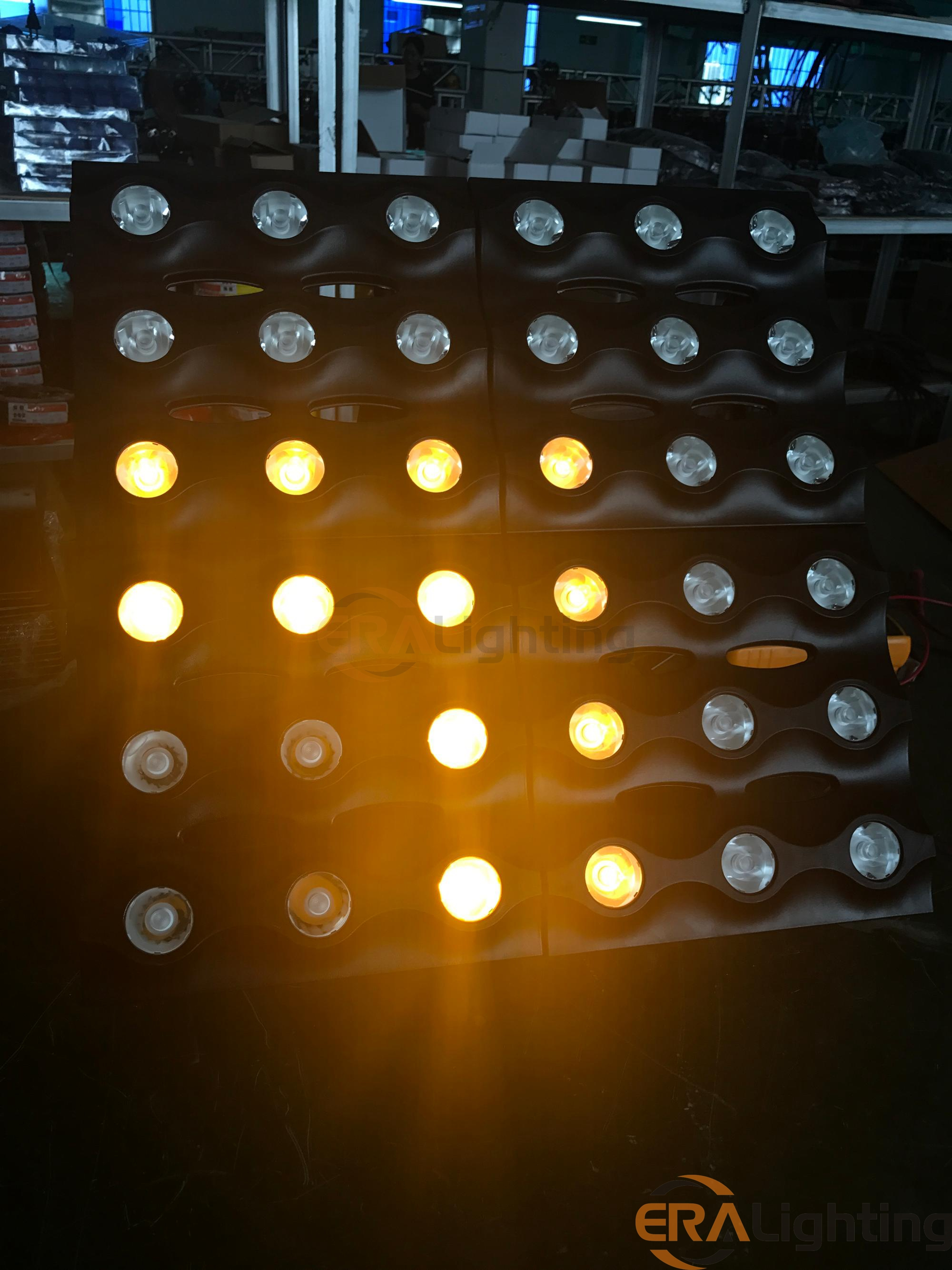 6x6 36x3w Led Golden Matrix Panel Beam Blinder Light Era