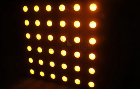 6x6 matrix led beam blinder light