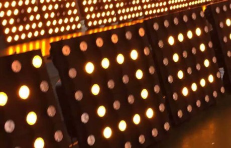 testing 36x3w cree led gold matrix panel lighting