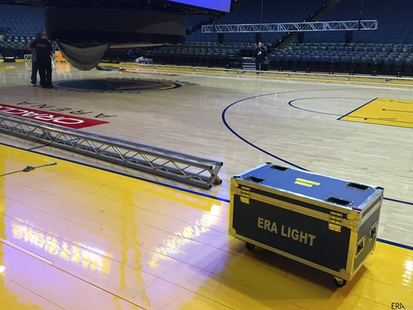 ERA Laser Moving Head in NBA 2016