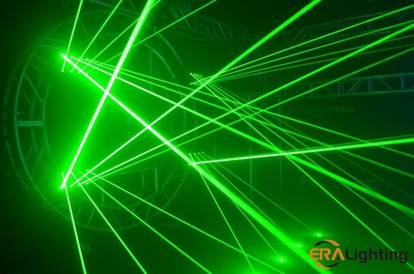 Only Green Color Effect Of Laser Moving Head